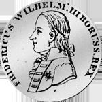 Silber Münze 1/6 Reichs oder Kurant Taler 1800