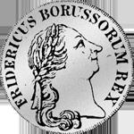 1/6 Kuranttaler Silber Münze 1777