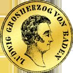Goldmünzen aus dem Grossherzogtum Baden