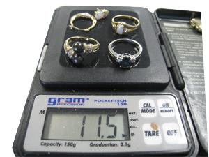 Goldpreis für 11,5 Gramm Gold