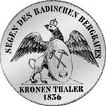 Silbermünzen aus dem Herzogtum Baden
