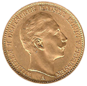20 Mark Preussen Goldmünze