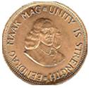 Rand Münze Gold
