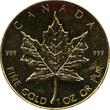 Maple Leaf Goldmünze