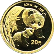 China Panda Anlagemünze Gold