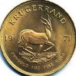 Gold Anlagemünze aus Südafrika