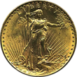 Gold Anlagemünze aus den USA