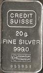 Silberbarren Credit Suisse