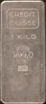 Silberbarren Credit Suisse 1 kg