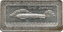 Zeppelin Silberbarren