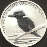 Kookaburra Silber Münze
