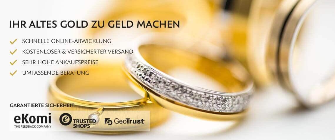 Goldankauf – Gold verkaufen zu hohen Preisen